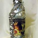 Декорирование бутылки. Школа Татьяны Шам