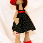 Куколка текстильная