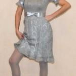 Ажурное платье крючком.