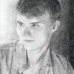 Сотвори Себя. Анна Солодовникова. Первый портрет карандашом