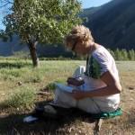 Медитация и живопись. Алтай