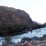 Долина реки Чулышман. Пороги на Чулышман