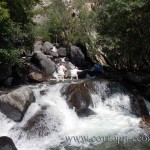 Покорение водопада. Алтай