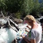 Водопад в долине Чулышман