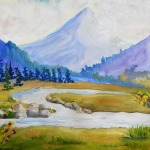 Мастер-класс по живописи в Школе Творчества Татьяны Шам