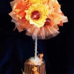 Дерево конфетное персиковое