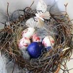 """Пасхальное гнездо. Декупаж яиц. Школа """"Сотвори Себя"""""""