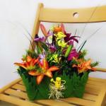 Композиции из искусственных цветов в СОТВОРИ СЕБЯ