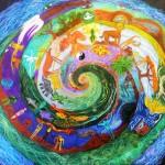 СОТВОРИ СЕБЯ - Школа Творчества Татьяны Шам. Марина Болотина. Мир. Пастель.