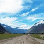 Дорога на южный берег Телецкого озера