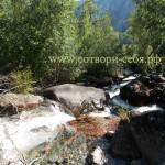Водопады долины реки Чулышман. Алтай.