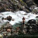 Отдых и наслаждение природой. Водопады Чулышман. Алтай.
