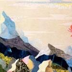 Рассвет. Текстильный коллаж. Маргарита Емельянова
