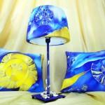 Лампа и подушки Ольги
