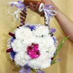 Креативный букет невесты сумочка. Школа Творчества Татьяны Шам