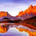 Пейзаж Тибет