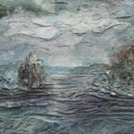Залив океана. Роспись и декор стен в Школе Творчества Татьяны Шам