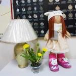 """Куколка в стиле Т.Канэ. Керамические одуванчики. Школа Творчества """"Сотвори Себя"""""""