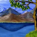 Пейзаж-горное-озеро2_