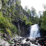 Водопад Корбу во всей красе!